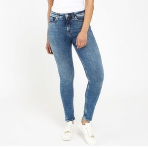 Silver Jeans High Note Skinny Jeans Plus Size Acid